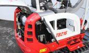 pelle takeuchi TB216 systeme de refroidissement à haute pression