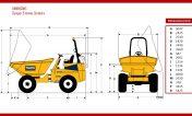 dimensions-dumper-giratoire-9-tonnes