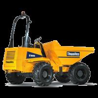 dumper giratoire thwaites 6 tonnes