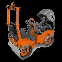 moteur rouleau tandem articulé hd12 hamm