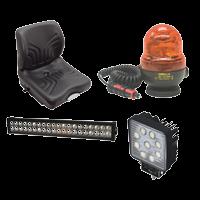 Equipements de confort et de sécurité pour engin de chantier