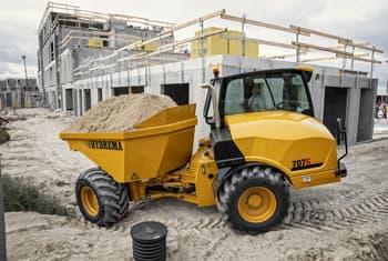 Tombereau Hydrema 7 tonnes Multi flexible