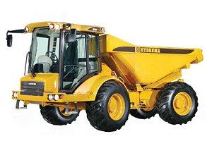 Tombereau Hydrema 10 tonnes 912F engin de chantier batiment et travaux publics